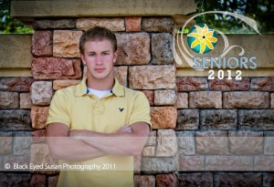 Spencer - Black Eyed Susan Photography Senior Representative Class of 2012