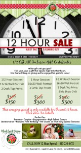 Photography Gift Certificate Sale