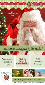Santa Claus is Coming To Town at Black Eyed Susan Photography